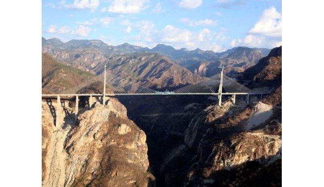 Mexicul are cel mai înalt pod din lume. Podul Baluarte