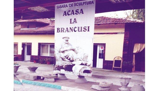 "Sculptori straini si romani, intr-o expozitie internationala de exceptie, ""acasa la Brancusi"" (FOTOGALERIE)"