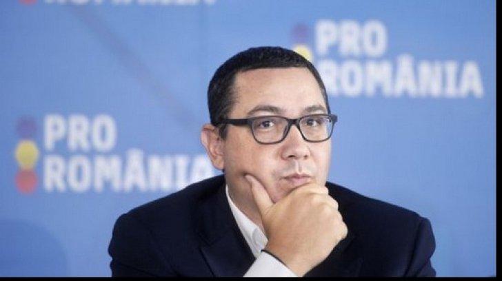 """Victor Ponta: """"Povestea cu modificarea legii prin Parlament este doar o pacaleala"""""""
