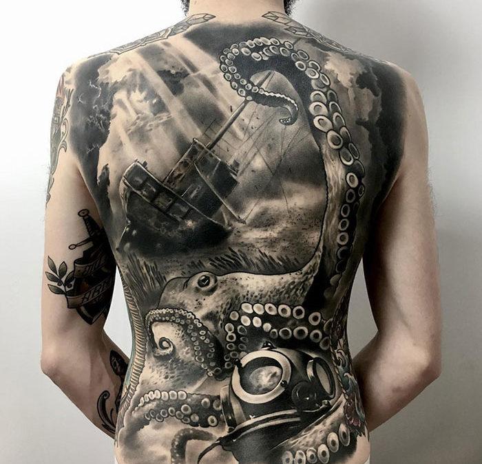 Cele mai populare tatuaje barbati sunt cele de mari dimensiuni: vezi cum le poti face in siguranta!