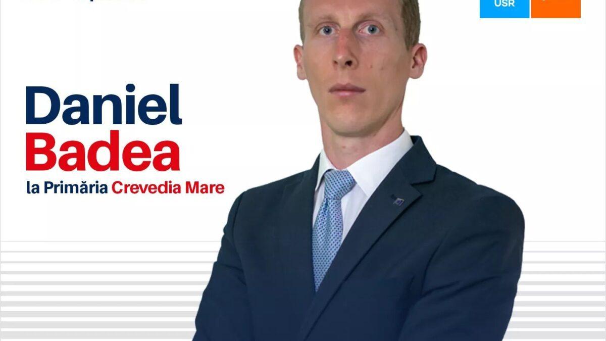 Alege un primar care crede in schimbarea comunei Crevedia Mare – Ai incredere in Stefan Daniel Badea